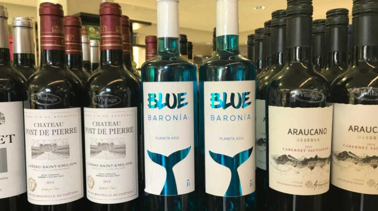 Blue Wine in #Lebanon