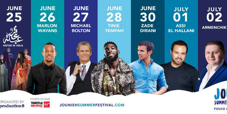 This Year's Jounieh Festival Promises to be The Biggest to Date!