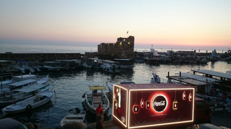 The Coca-Cola Happiness Truck is in Lebanon!