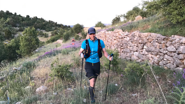 Trail-runner Patrick Vaughan Sets new Record for the Lebanon Mountain Trail
