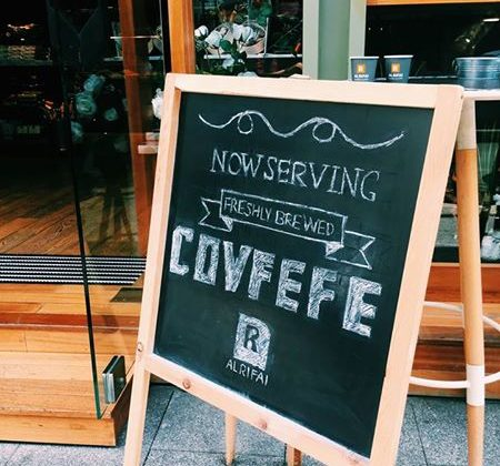 AL RIFAI Now Serving #Covfefe