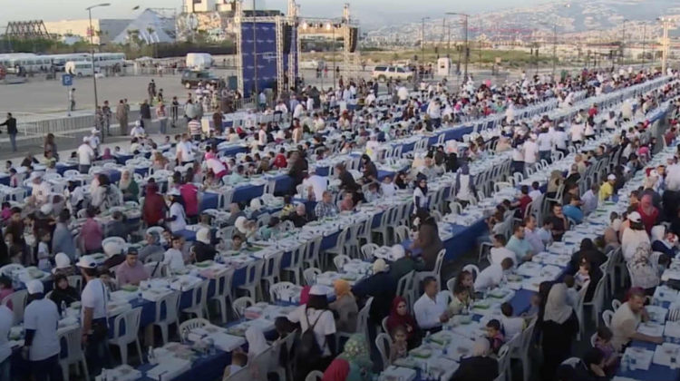 The Longest Iftar Table in The World – by Ajialouna