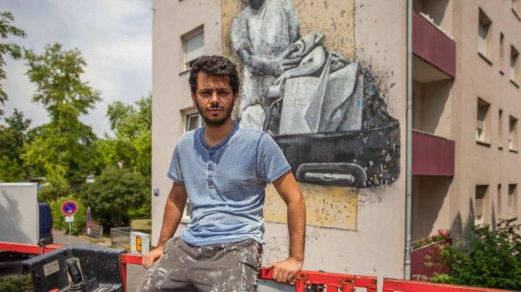 Lebanese Artist Yazan Halwani Wins Gold at the 2017 Jeux de la Francophonie