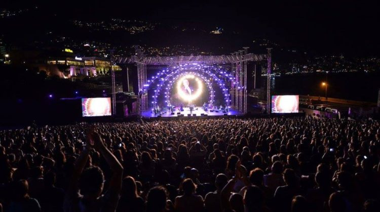 Watch the 2017 Jounieh International Festival Fireworks with Michel Fadel