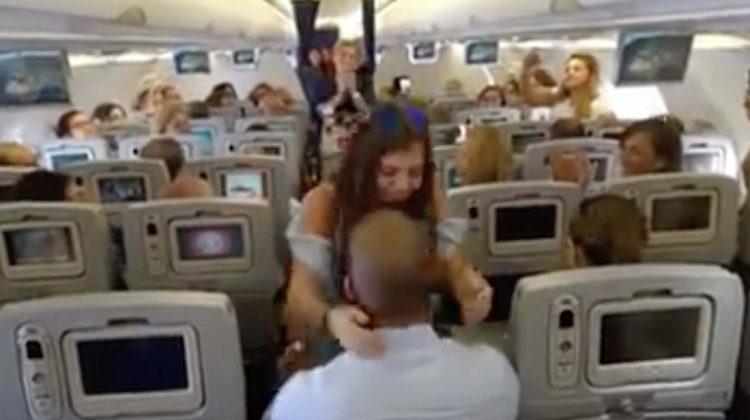MEA Passenger Makes Mid-Air Surprise Proposal