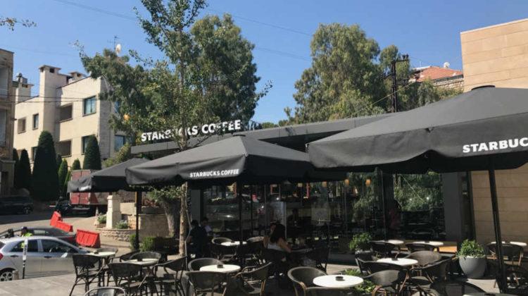 Starbucks Now Open in Broumana
