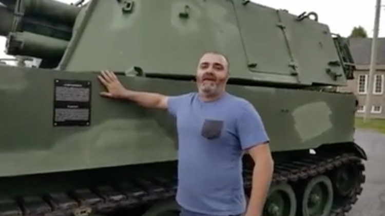 This Guy Says He Bought a Tank to Support the Lebanese Army