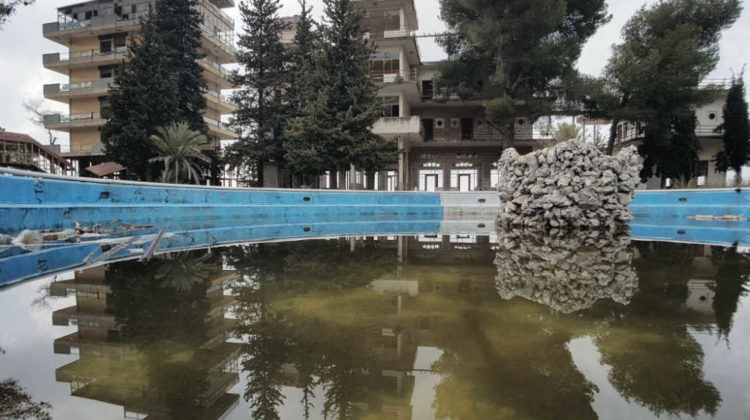 In Pictures: Abandoned Amriyeh Hotel