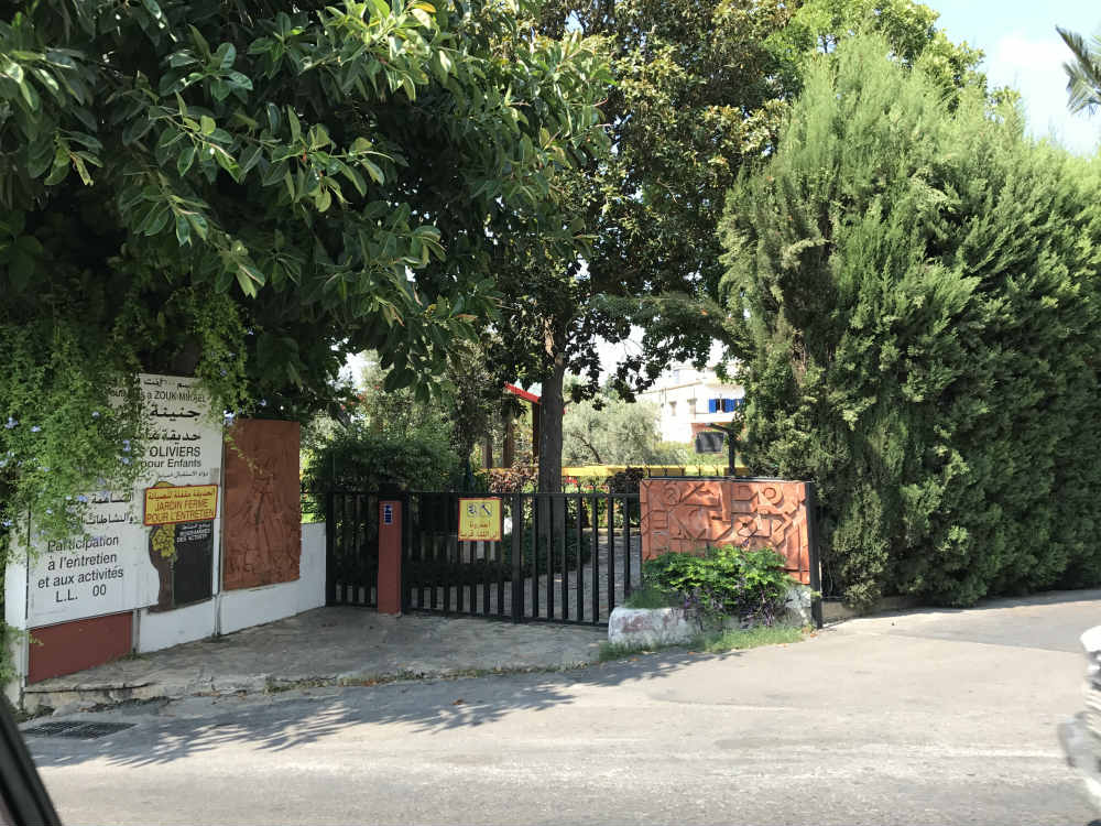 Why is the zouk mikhael garden still closed blog baladi for Closed loop gardening
