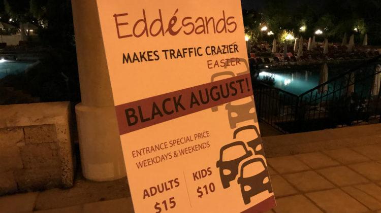 Edde Sands Slashes Admission Prices in Half