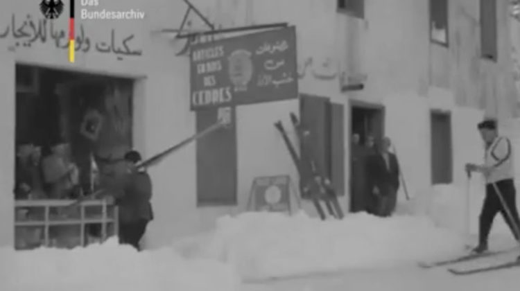 Old 1957 Footage of Lebanon