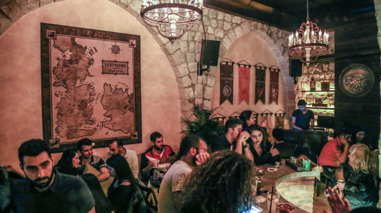 Castle Black: A Game Of Thrones-Themed Bar in Zahle