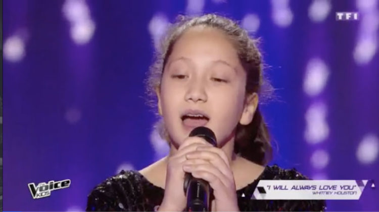 11-year old Lyn Khouri Impresses Judges at The Voice Kids France