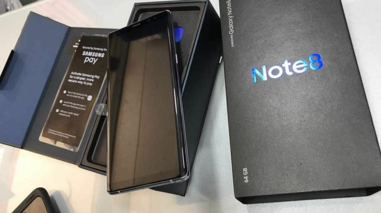 Amhaz is already Selling the Note 8 Two days Before its Release Date