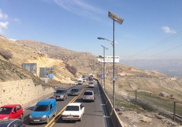 Nightmarish Traffic on Dahr al Baydar Road