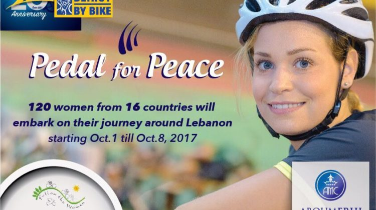Pedal For Peace: 120+ Women Will Ride their Bicycles Across Lebanon