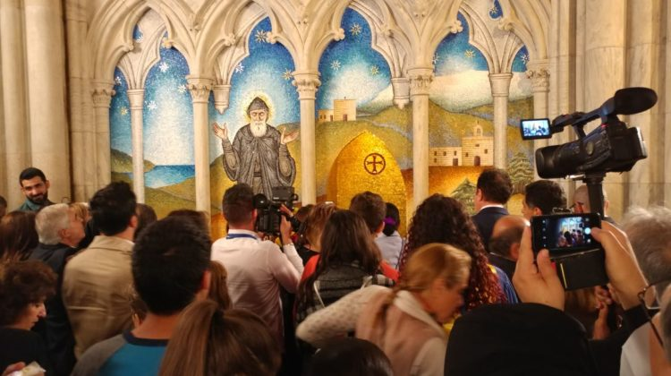 Pictures + Video: Mar Charbel Shrine inside St. Patrick's Cathedral