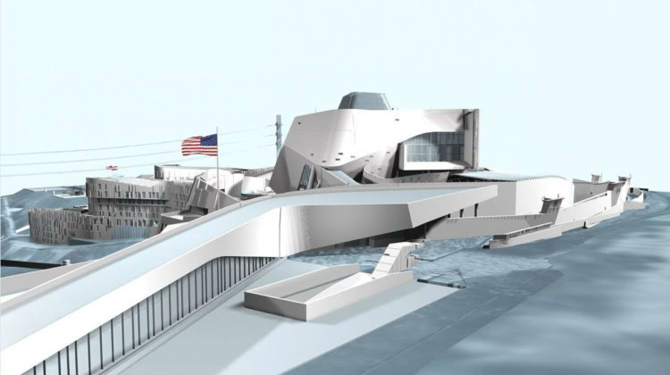 How the New One Billion Dollar US Embassy in Awkar will Look Like