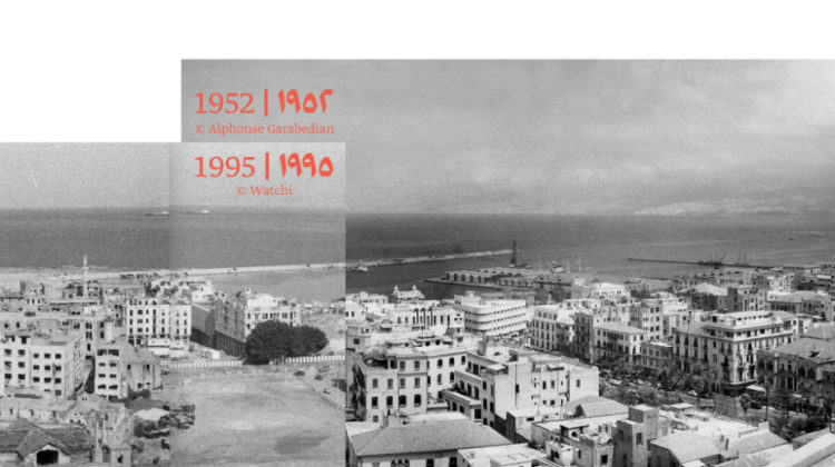 Metamorphosis of Beirut From 1870 Till 2052 at Beyt Amir