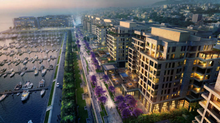 Waterfront City: A Self-Sustaining City Coming toLife