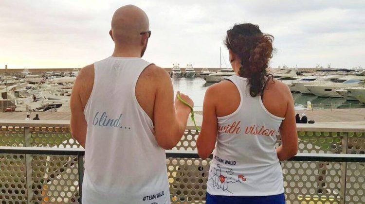 Meet Rabih el Jammal: The First Lebanese Blind person to Run the Beirut Marathon