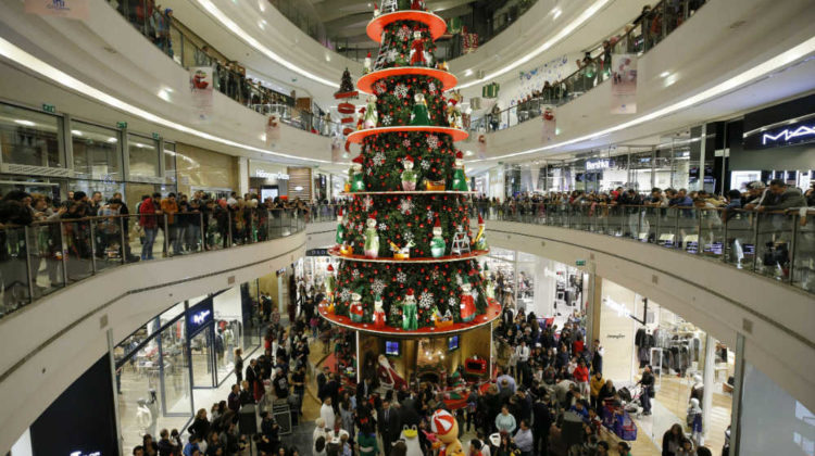 The 2017 City Centre Beirut Christmas Tree Lighting