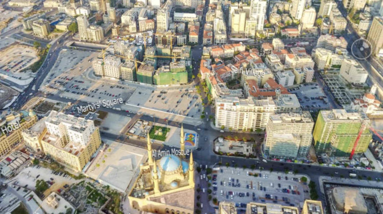 Awesome Beirut 360-degree Shot