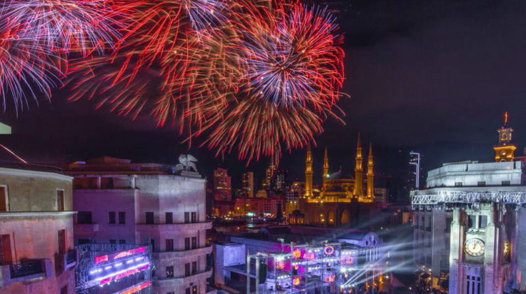 In Pictures & Videos: Beirut Spectacular NYE 2018 Celebrations