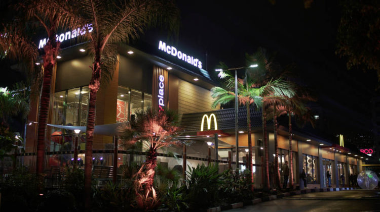 McDonald's Dora Gets High Tech Revamp