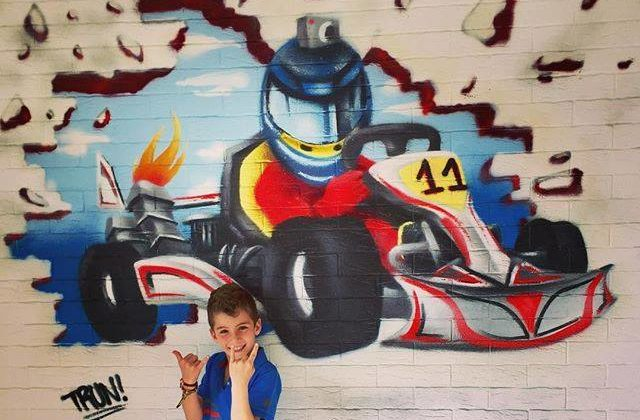 Christopher Feghali is Lebanon's Youngest Karting Champion