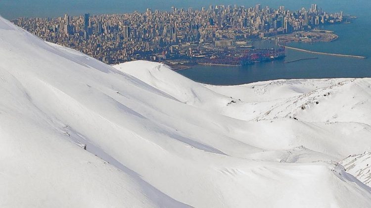 Stunning Beirut Shot From Ski Slopes Causing Controversy: Fake or Real?