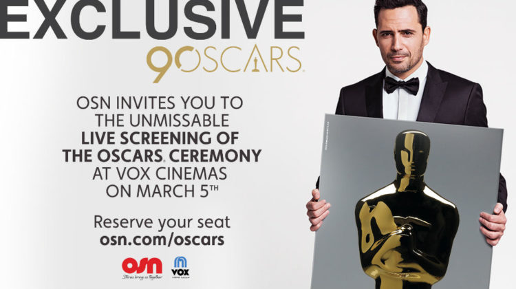 You Can Watch the Oscars Live at Vox Cinemas on March 5