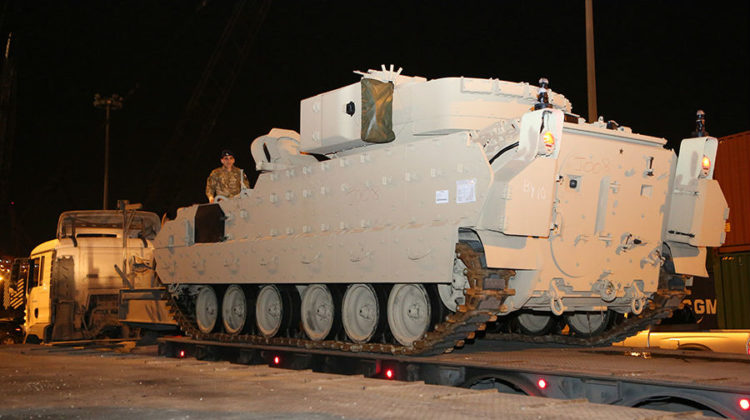 Lebanese Army is Getting 32 New M2A2 Bradleys from US