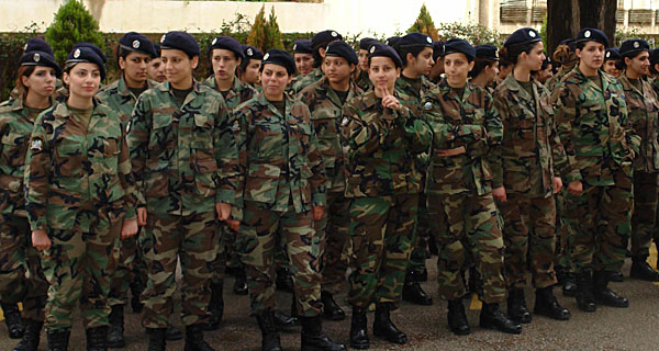 Mothers in the Lebanese Army Given The Day off