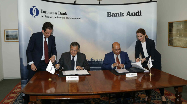 EBRD Injects Confidence in Lebanese Financial Sector with Acquisition of 2.51% of Bank Audi's Total Common Shares