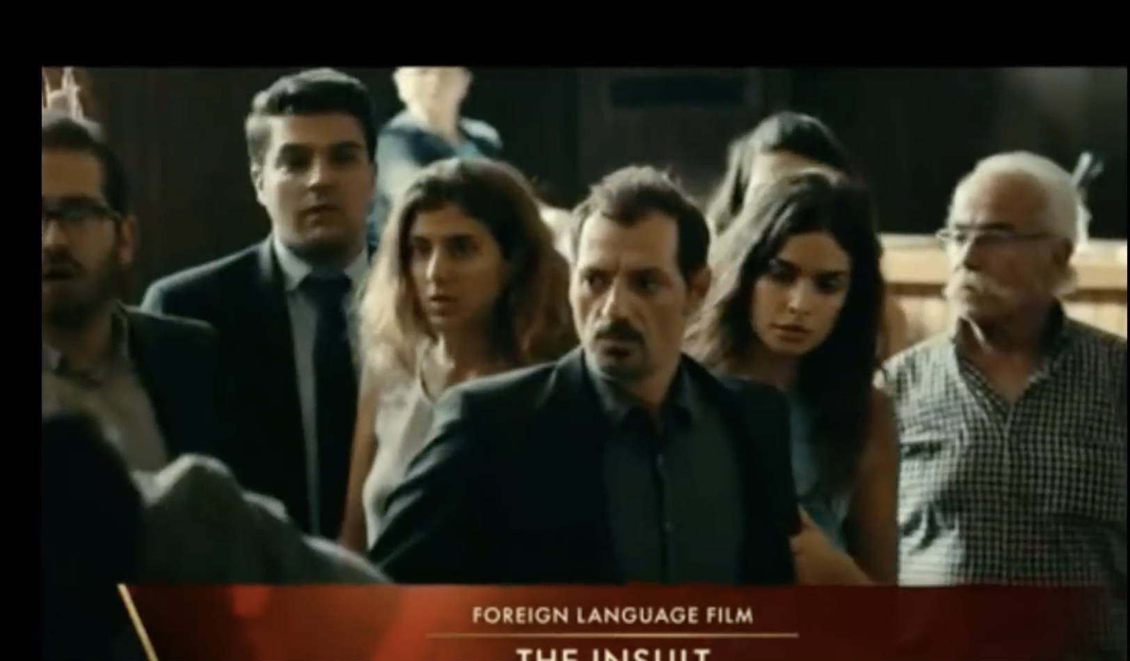 �the insult� loses to �a fantastic woman� at the 2018