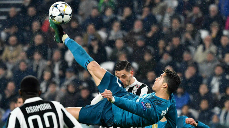 Cristiano Ronaldo vs Roda Antar's Bicycle Kick