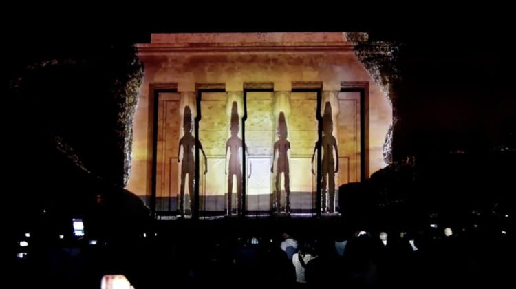 Watch this Awesome 3D Mapping Show During the 2018 #LaNuitDesMusees Edition
