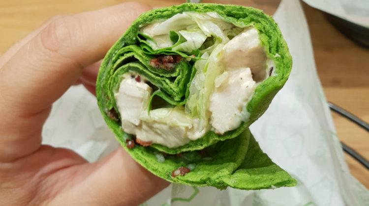 Meet Zaatar w Zeit's Super-Natural Green Sandwich!
