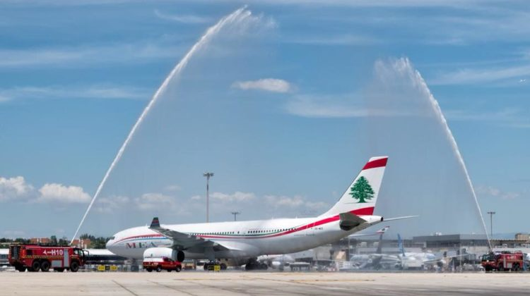 MEA Airlines Completes First Direct Flight from #Beirut to #Madrid