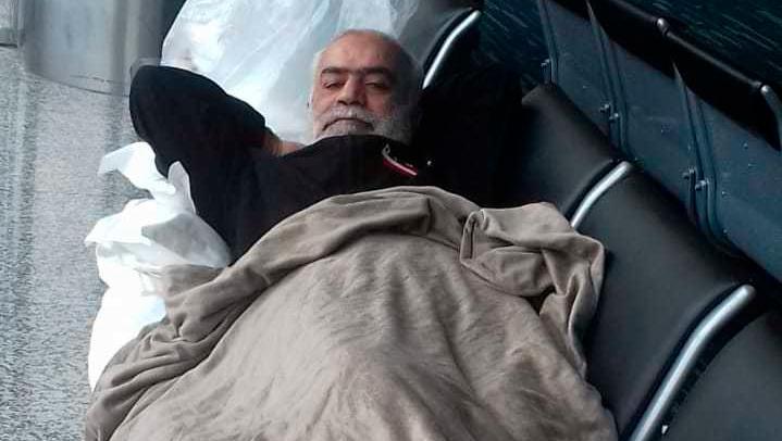Lebanese Nizam Hussein Shalak Has Been Stuck in Ecuador Airport For Over 40 Days