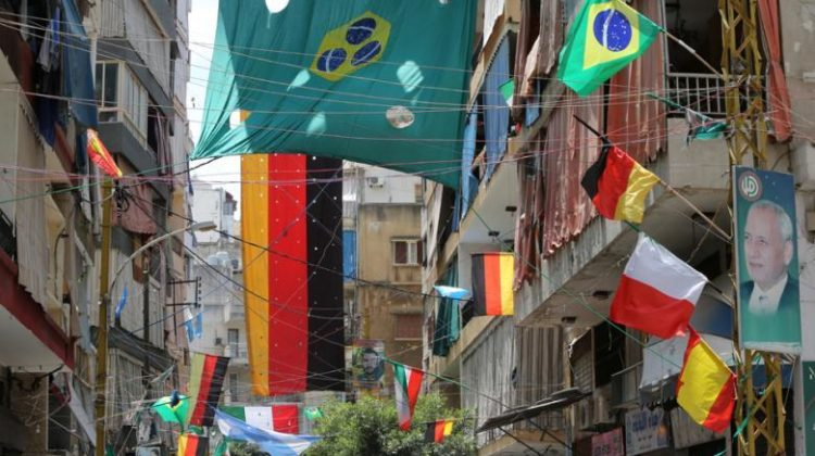 World Cup Teams Flags Banned in Beirut