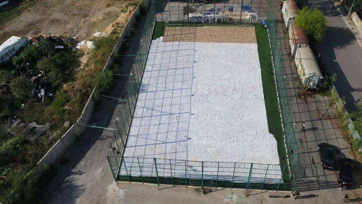 ISF covers Entire Football Field to Display Lebanon's Largest-Ever Drug Bust