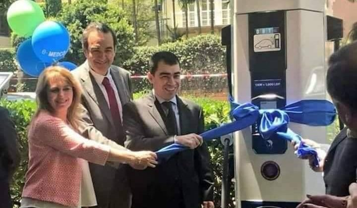 First #ElectricVehicle Charging Station Launched in #Lebanon