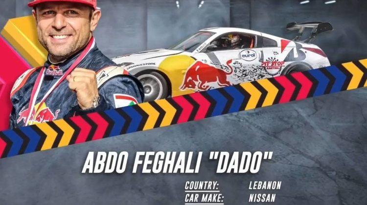 Abdo Feghali Impressive Run Earns Him 4th Spot at 2018 Red Bull Drift Shifters
