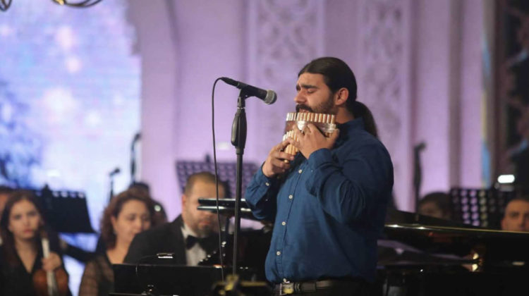 Lebanese Musician Creates Musical Instrument Using Army Bullets From Arsal Battle