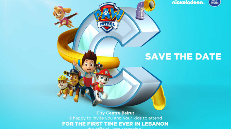 The Official Paw Patrol Show Coming to City Centre Beirut
