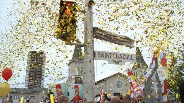 Ottawa Names Street After St. Charbel