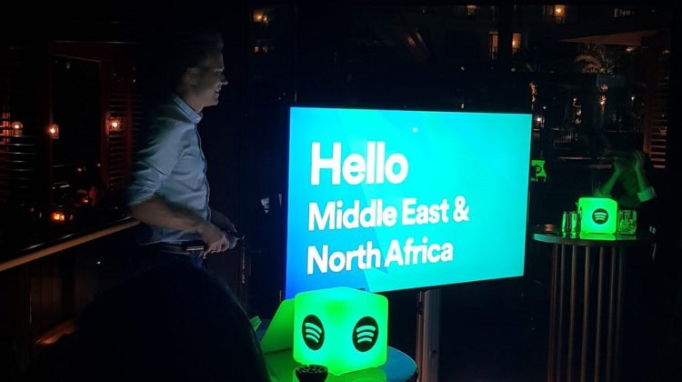 Spotify officially launches in Lebanon and the MENA region, to compete with Deezer and Anghami