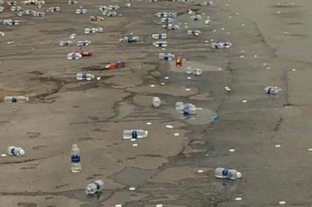 What Happens to the Water Bottles at the #Beirut Marathon?